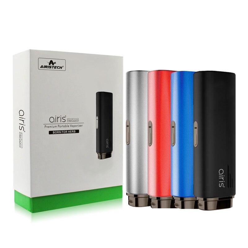 E Cigarette Airistech Airis Herborn Vape Kit 2200 mAh batterie sèche herbe vaporisateur à base de plantes cire démarreur stylo en céramique chauffage