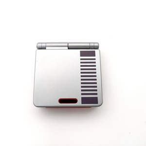 Image 3 - مجددة ل GameBoy مقدما SP ل GBA SP وحدة التحكم AGS 101 الخلفية الخلفية الشاشة NES الطبعة وحدة التحكم