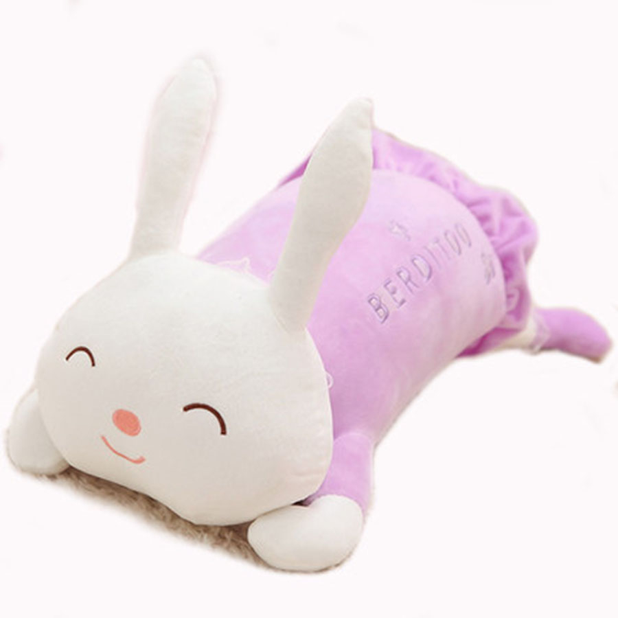 Bunny Rabbit Stuffed Animal Plush Toy Big Peluche Lapin Kawaii Girls Gifts Lying Rabbit Stuffed Plush Animals For Baby 70C0395 lapin mucosal immunology