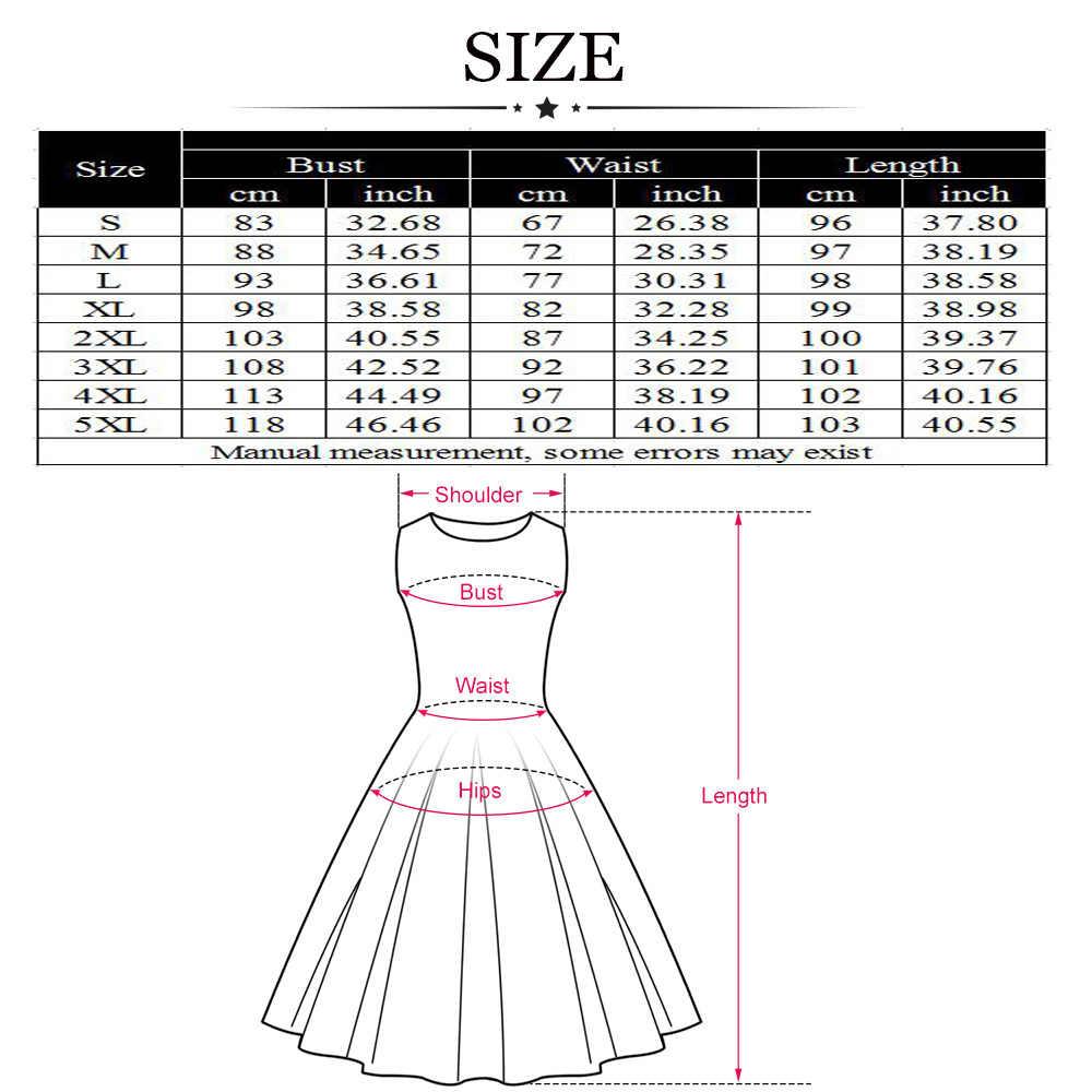 ... Wipalo Flamingo Embroidery Vintage Party Dress Women Plus Size Retro  50s Rockabilly Robe A-Line aa2464a3c6d8