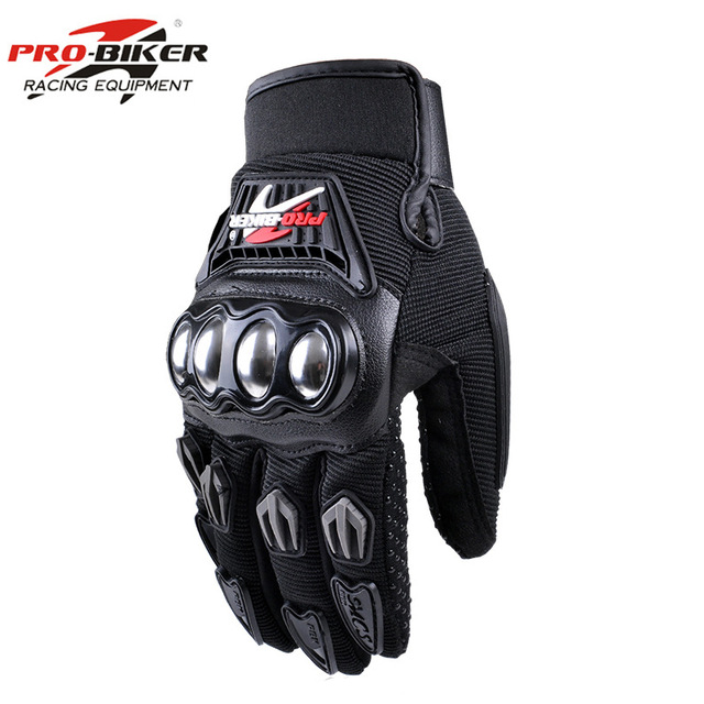PRO BIKER Motorcycle Gloves Racing Luvas Moto Motocross Motorbike Gloves Summer Breathable Wearable Protective Guantes