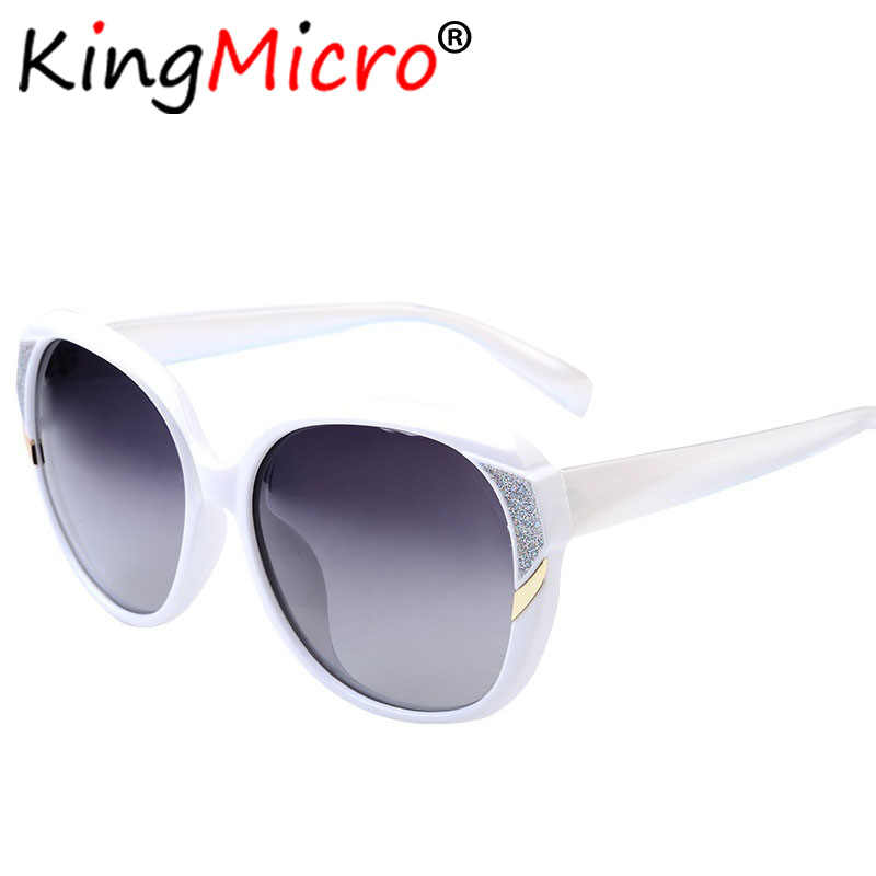 5df1fc8764cb1 Women Oversized Polarized Sunglasses Fashion Ladies Big Oval Colorful  Driving High Quality UV Protection Sun Glasses
