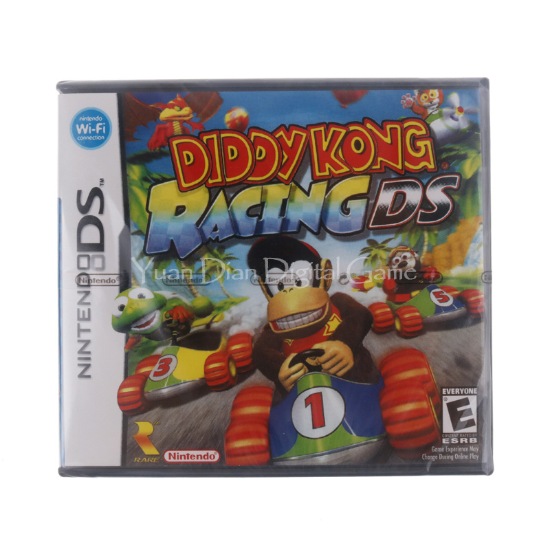 Nintendo nds consola de videojuego cartucho tarjeta diddy kong racing ee. uu. ve