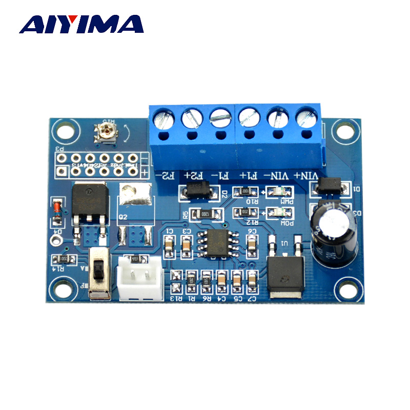Aiyima DC 12V 24V 2A Automatic PWM PC CPU Fan Temperature Control Speed Controller dc 12v 5a pwm pc fan temperature manumotive speed controller module cpu high temp alarm with buzz probe for arduino heat sink