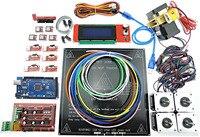 3D Printer Full Kit RAMPS 1 4 Mega 2560 MK3 Heatbed LCD2004 Stepper Motor MK8 Extruder