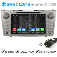 Octa Core 8 Core Android 6.01 Car DVD Player for Toyota Camry 2007 2008 2009 2010 2011 With Rear View Camera Radio Bluetooth
