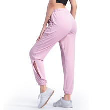 Loose Women Yoga Pants Stretch Sport Running Quick Dry Womens Fitness Leggings Leg Large Breathable