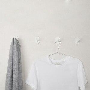Image 5 - 3 Youpin HL Ít Tự Dính Móc Mạnh Bếp Phòng Tắm Tủ Quần Áo Móc Treo Tường 3Kg Chịu Tải Max Móc Treo Móc lên