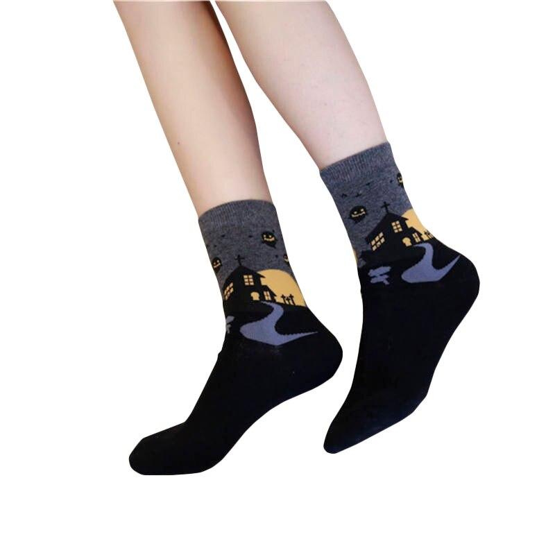 Custom Wine Socks Autumn Spring Fall 2020 New Dobby Halloween Sock Funny Women Socks Novelty Cool Socks Christmas Gift For Girls