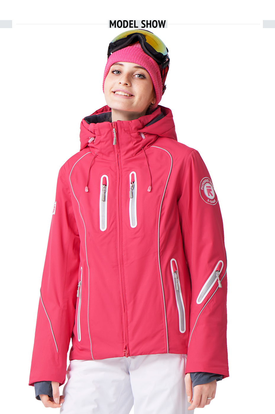 RUNNING RIVER Brand Women Ski Jacket snowboard Ship From Russia   China  Size S-3XL High Quality Warm Women Winter Jacket  A4015 51a2f8ce4