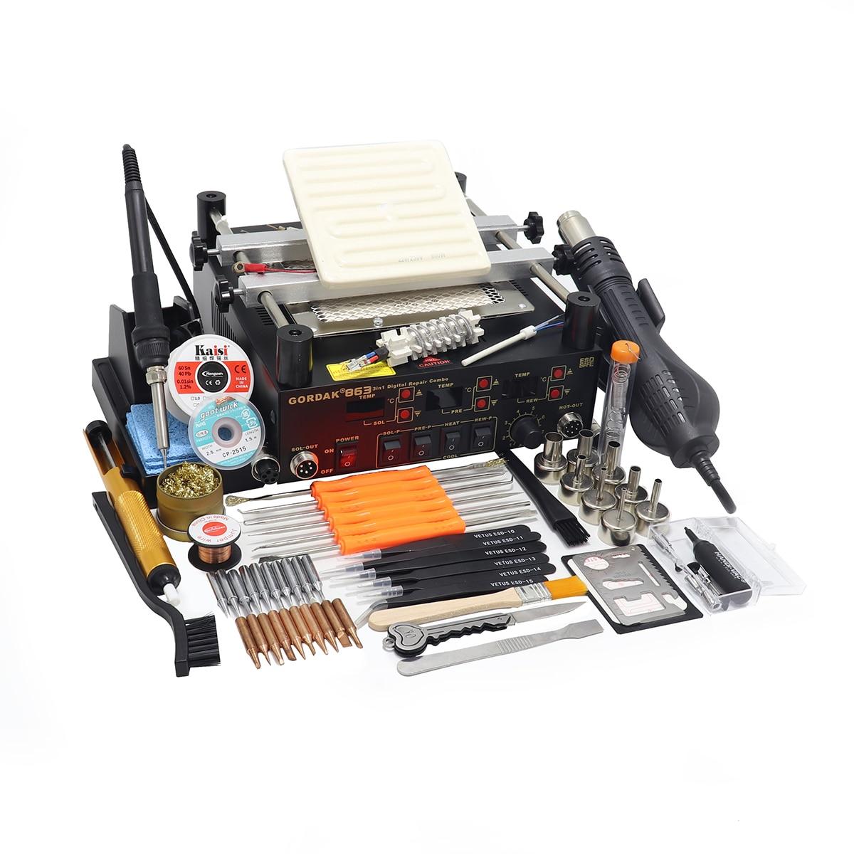 gordak-863-3-in-1-digita-hot-air-heat-gun-bga-rework-solder-station-electric-soldering-iron-ir-infrared-preheating-station