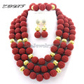 High Qulity African Beads  Jewelry Set Nigerian Wedding African  Beads Jewelry Set   Wedding Jewelry Set  L1019