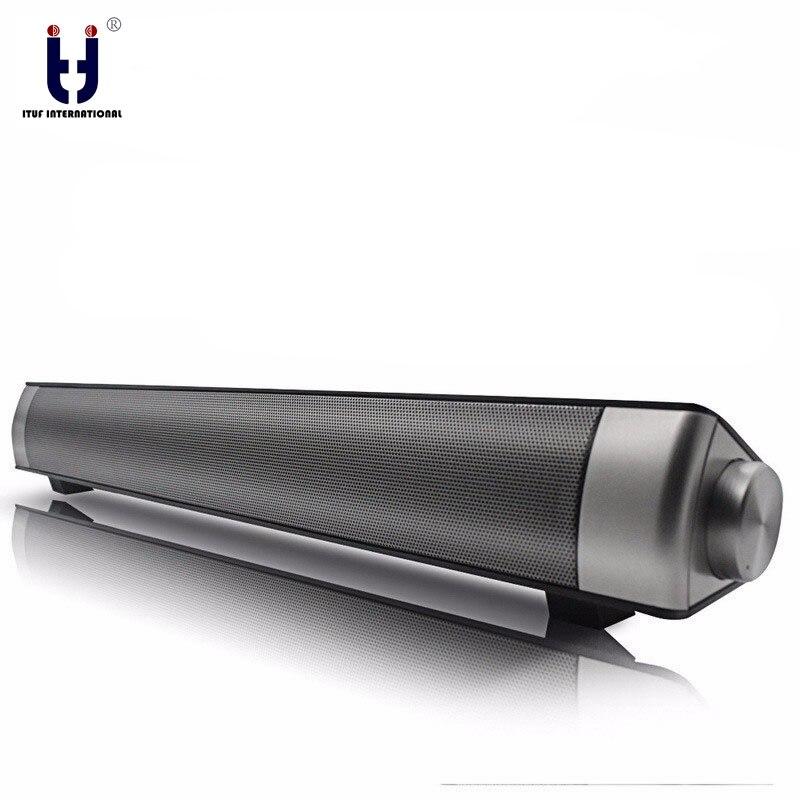 Original Ituf Wireless Bluetooth Speaker With Double 5W Bass Surround Sound Speaker Support TF Card Calls Function Bet
