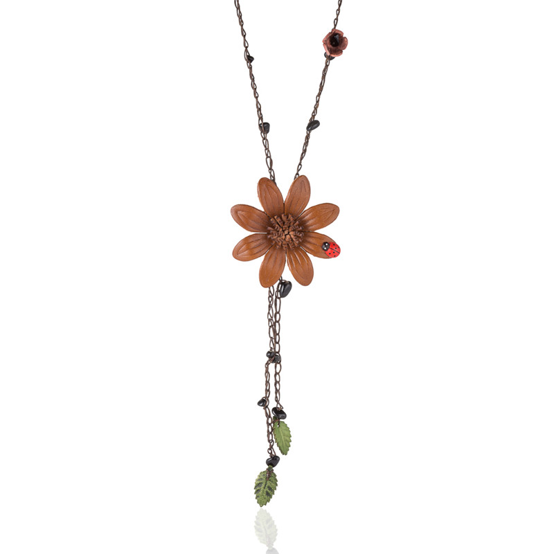 WNGMNGL-Romantic-Genuine-Leather-Flowers-Natural-Stone-Pendant-Necklace-for-Women-Girls-Boho-Long-Chain-Necklace(2)