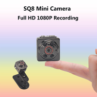 SQ8 Full HD 1080P Mini Camera Infrared Night Vision Micro Camera Motion Detection DVR Cam Voice