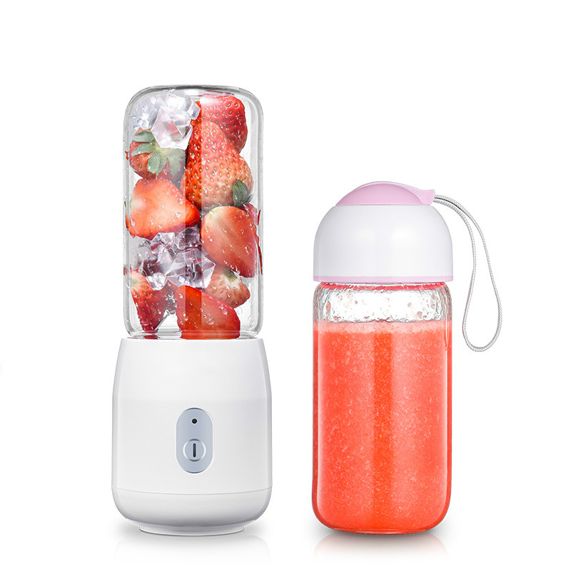 Juicers Juicer household mini student - automatic electric Fried juice cup portable charging. jiqi household mini electric portable juicer glass juice cup 222w big power pink blue green