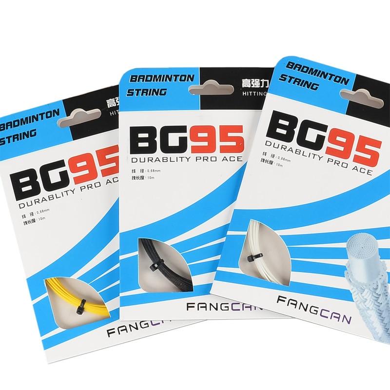 4pcs FANGCAN BG95 trpežni badmintonski loparji z visoko trdnostjo multifilament in monofilament prepleteni + titan do 30 kg