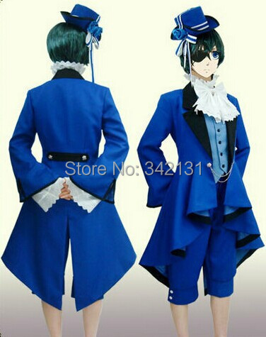 Ciel Phantomhive Cosplay Halloween Christmas Costume Ideas Black