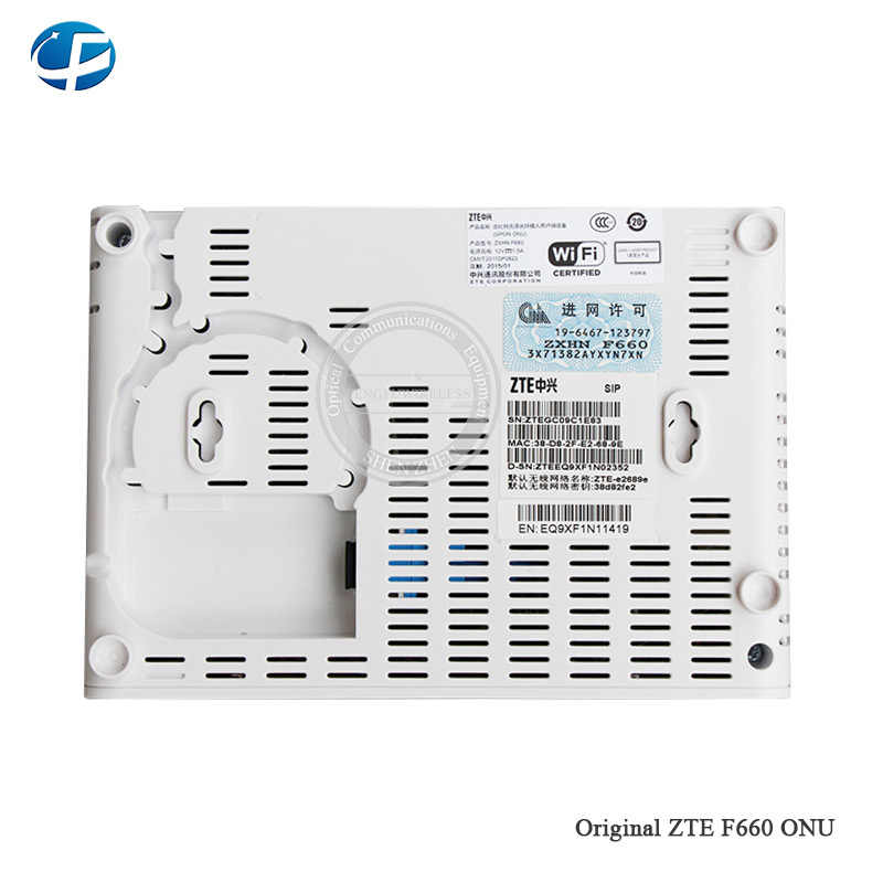 Detail Feedback Questions about Brand new ZTE F660 GPON ONU with 1GE