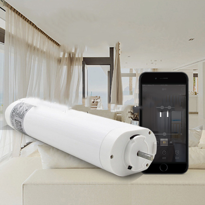 Ewelink Electric Wifi Curtain Motor Alexa/Google Home IOS Android Remote Control Smart Home Automation System ewelink dooya electric curtain system curtain motor dt52e 45w remote control motorized aluminium curtain rail tracks 1m 6m