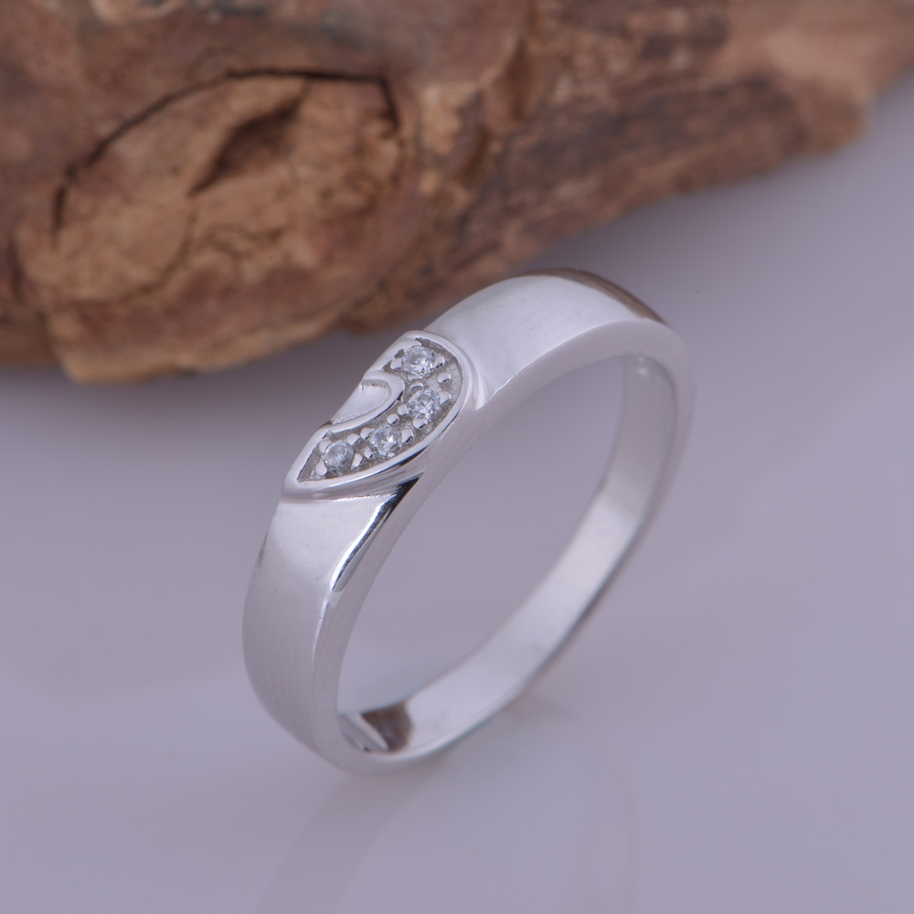on rings gold item accessories wedding with platinum beautiful romantic nice cz from new in plated jewelry diamond couple lover