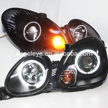 For Lexus GS300 GS400 headlights LED Head Lamp 1998-2005 year Black Housing LF