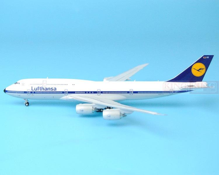 New: GeminiJets GJDLH1479 Lufthansa B747-8i D-ABYT Retro commercial jetliners plane model hobby