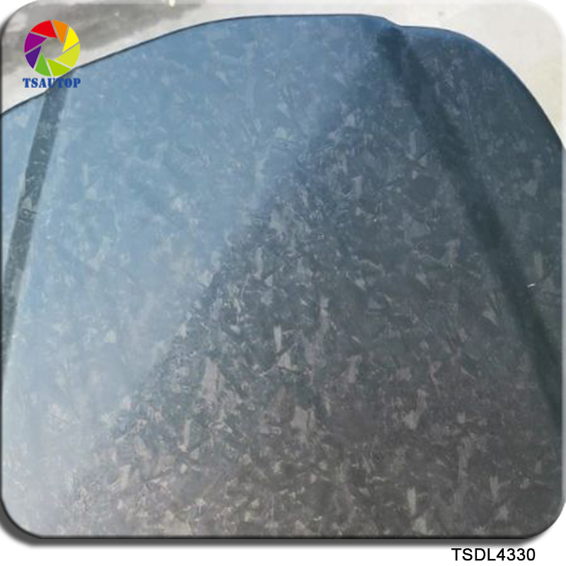 Free Shipping Hydrographic Water Transfer Printing Film 0.5mX2m/10m TSWL4330 Forged Carbon Fiber Film