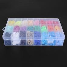 360pcs/box 24 Colors T5 Plastic Press Stud Buttons Fastener DIY Baby Clothing Resin Snap Button Craft Bags Parts Accessories 50sets optional 12 colors t5 plastic buttons with mold snap resin press stud fastener die for diy sewing bulk clothing decor