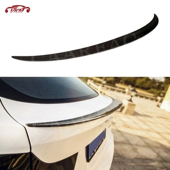 For X6 Rear Boot Spoiler Wings For BMW X6 E71 2008-2014 P Style Car Trunk Trim Sticker image