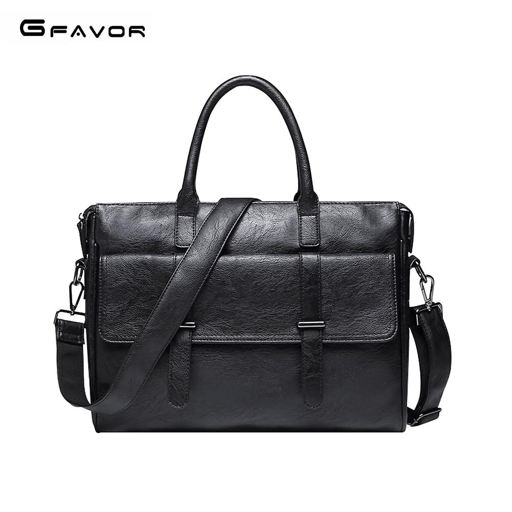 G-FAVOR New Men Briefcase Handbag Business