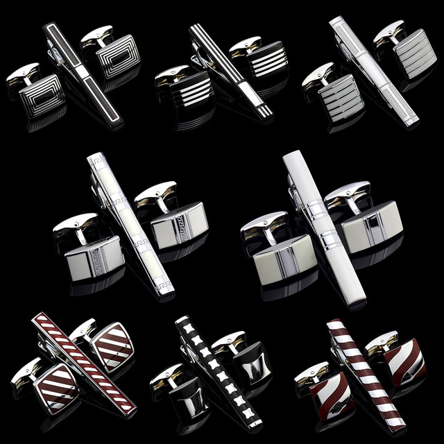 Mms Top French Cufflinks Tie Clips