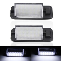2x 18 LED 3528 SMD License Plate Light For BMW E36 Ti 323i 325i 328i M3