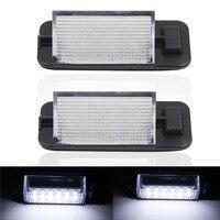 2x 18 LED 3528 SMD License Plate Light For BMW E36 Ti 323i 325i 328i M3