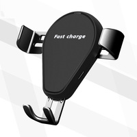 EtopLink QI Wireless Charger Gravity Car Holder 10W for iPhone X 8 Plus Samsung Galaxy S8 Note 8 Quick Charge Fast Charging Pad