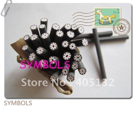 A-28 100 шт. 5 мм кокосовое Форма глина Кейн Необычные Дизайн ногтей Полимерная глина Кейн
