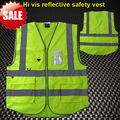 Multifunctional workwear High visibility safety  reflective clothing safety vest fluorescent yellow orange hi vis vest