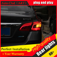 Car Styling LED Tail Lamp For Nissan Sylphy Taillights For Sentra Rear Light DRL Turn Signal