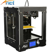 Anet 3D Printer A3 Full Assembled Desktop 3d Printing Upgraded Mainboard With 10M Filaments 16GB