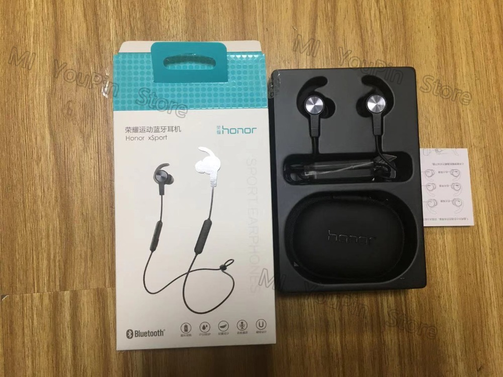 Huawei Honor xSport Bluetooth Headset AM61 IPX5 Waterproof BT4.1 Music Mic Control Wireless Earphones for Android IOS D5 (3)