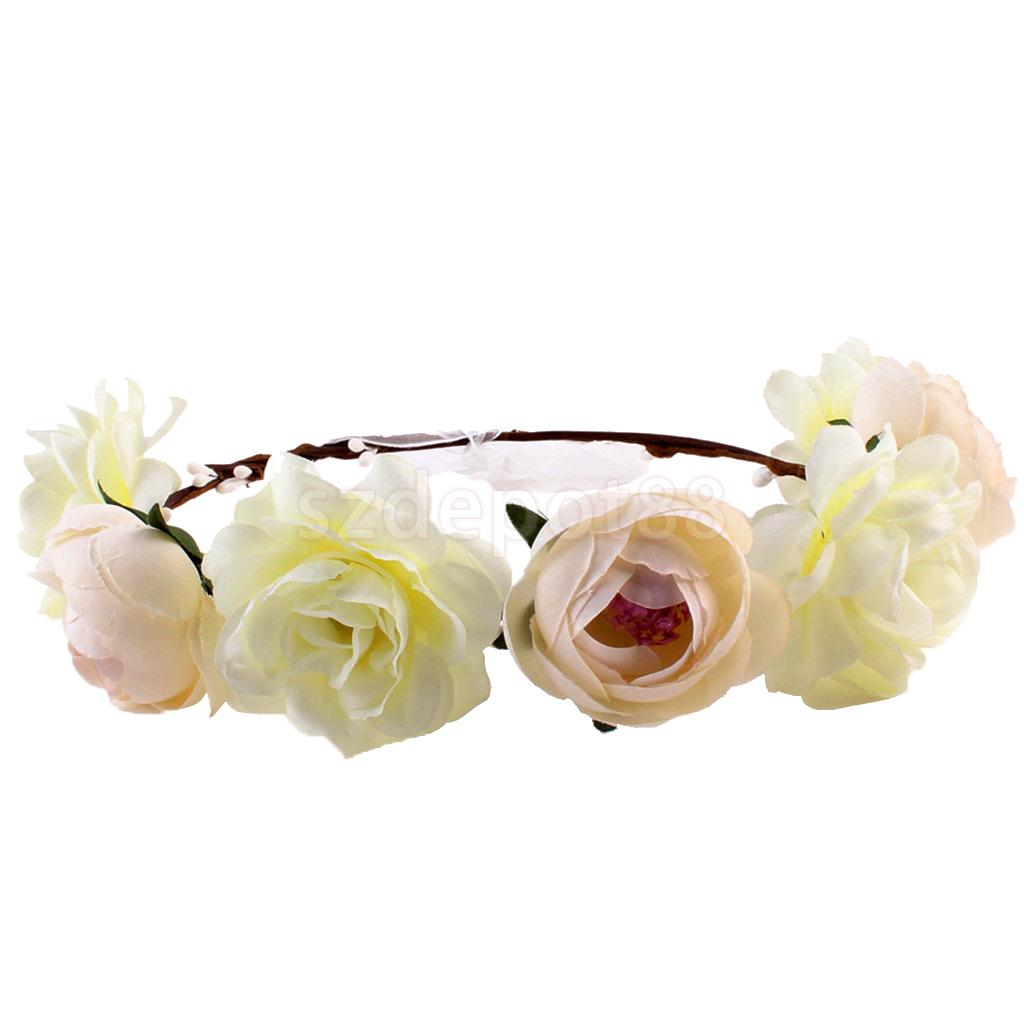 6 pieces pack women bride flower headband bohemian flower crown 6 pieces pack women bride flower headband bohemian flower crown hairband in hair accessories from womens clothing accessories on aliexpress izmirmasajfo