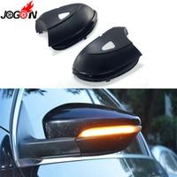 For VW Passat B7 CC Scirocco Jetta MK6 EOS LED Side Wing Rearview Mirror Indicator Blinker Dynamic Lamp Turn Signal Light