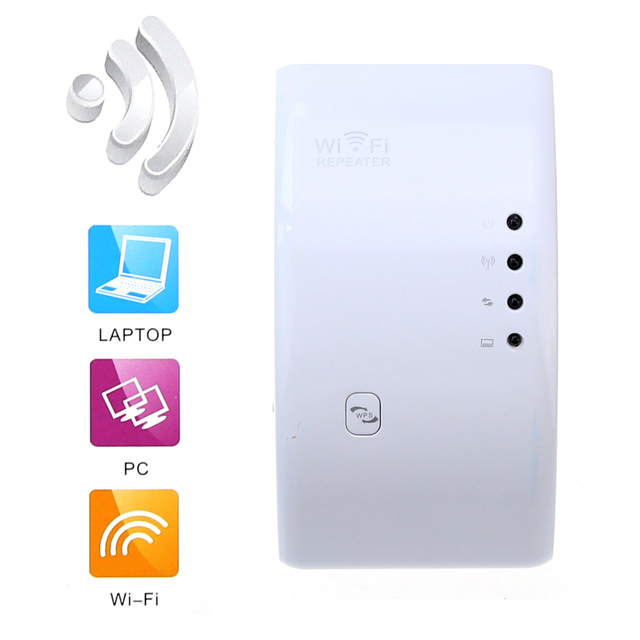 centechia Wireless WIFI Repeater 300Mbps Extender 2.4G Wi Fi Amplifier Wi-Fi Reapeter