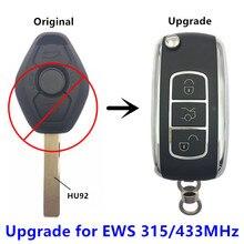QCONTROL Upgrade font b Car b font Remote Key for BMW EWS X3 X5 Z3 Z4