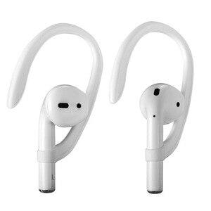 Image 1 - 抗ロストホルダーイヤホンスタンドappleのiphone xs max x xr airpods 2/3プロワイヤレスヘッドフォンマウント耳フックキャップイヤーフック