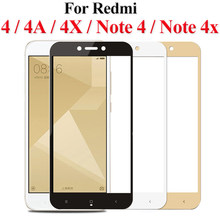 Protective glass on for xiaomi redmi 4x 4a note 4 ksiomi note4x redmi4x tempered glas xiaomei xiomi x4 x note4 safety protector(China)