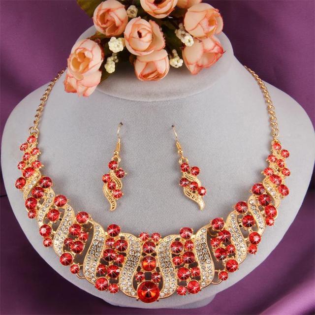 MINHIN Gold Wedding Jewelry...