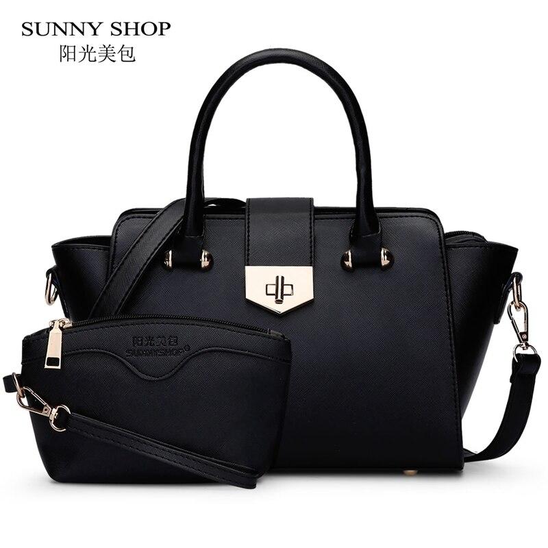 ФОТО SUNNY SHOP Luxury Handbags Women Bags Designer High Quality Women Bag Fashion Purses And Handbags Shoulder Bags For Mother