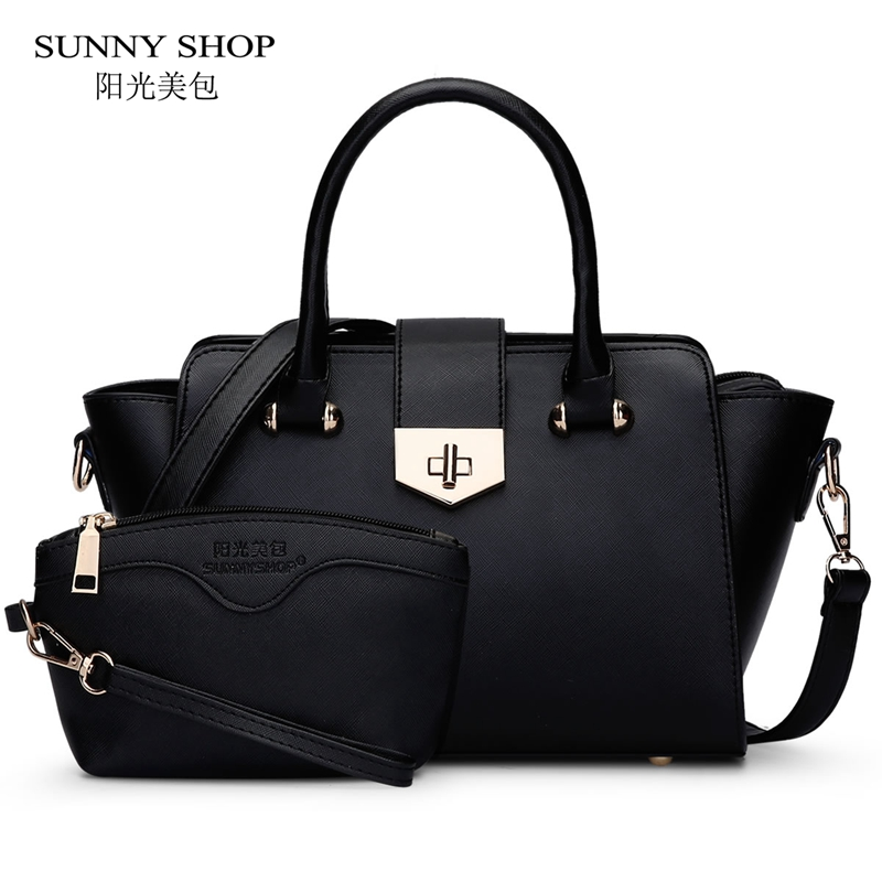 SUNNY SHOP Luxury Handbags Women Bags Designer High Quality Women Bag Fashion Purses And Handbags Shoulder Bags For Mother