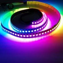 2M WS2812B 5050 RGB LED Strip Light 144LED/M Black&White PCB Individual Addressable LED Strip RGB WS2812 144 led